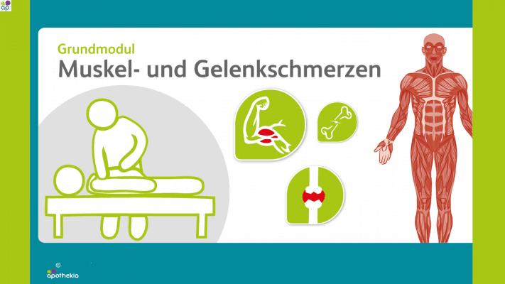 Grundmodul Muskel- und Gelenkschmerzen
