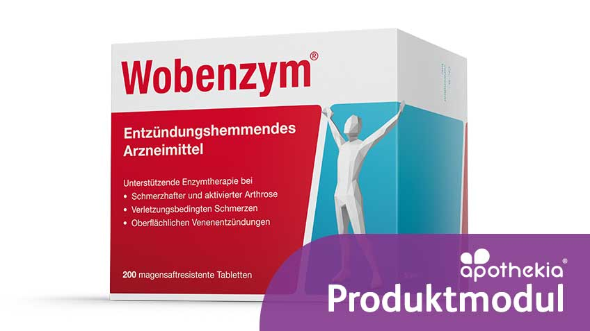 Teaserbild zum apothekia-Produktmodul Wobenzym