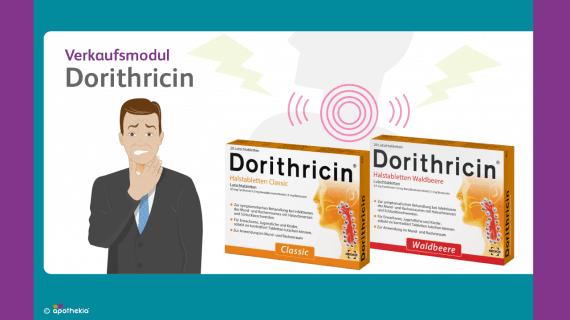 Verkaufsmodul Dorithricin