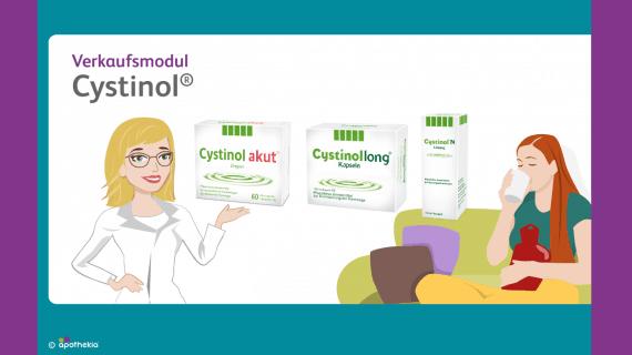 Verkaufsmodul Cystinol