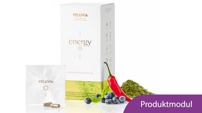 Produktmodul VELUVIA energy