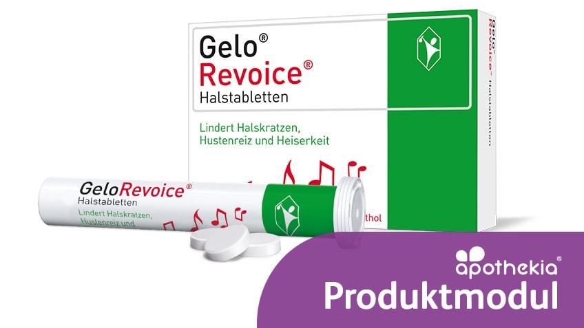 Teaser apothekia-Produktmodul GeloRevoice