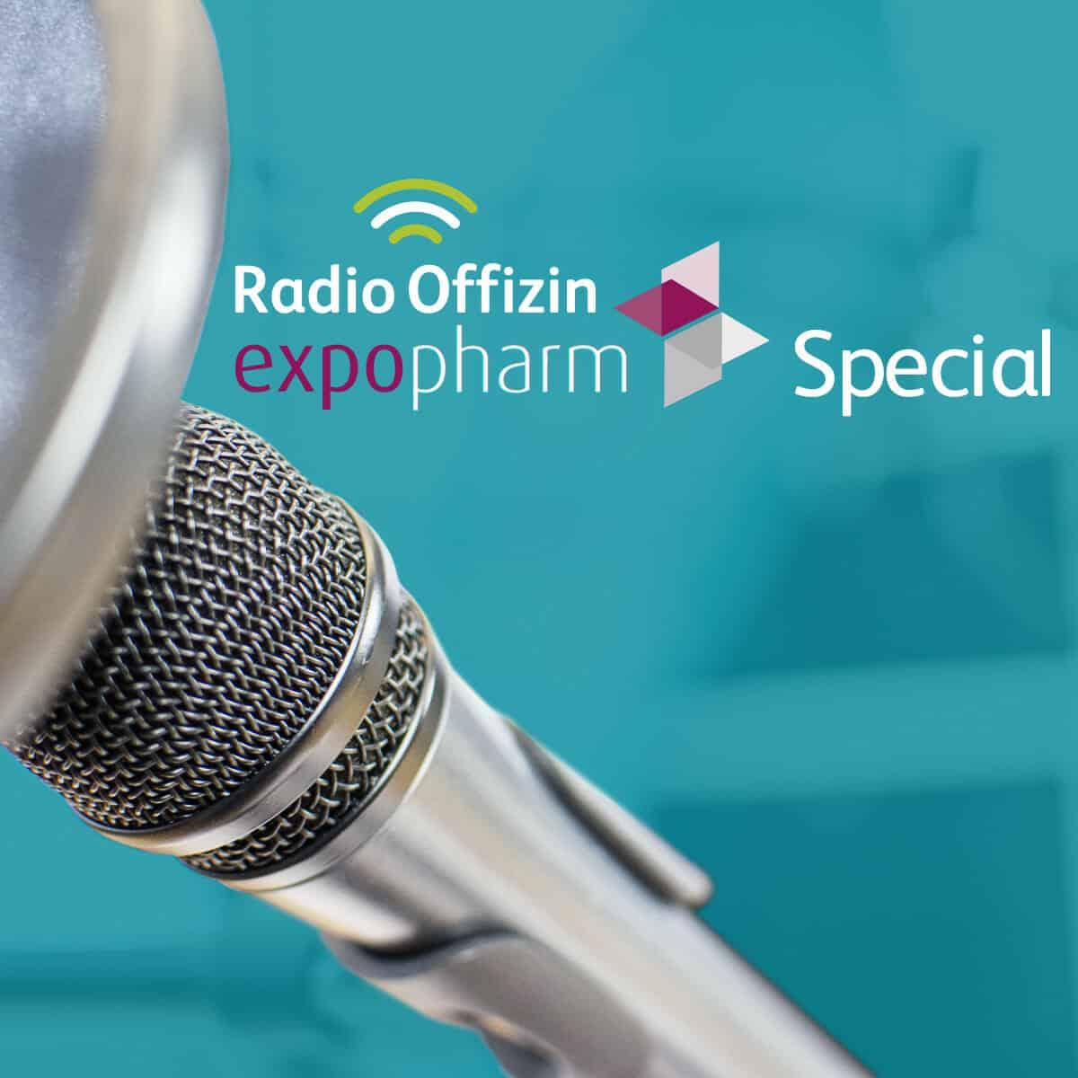 Symbolbild expopharm-Episode von Radio Offizin
