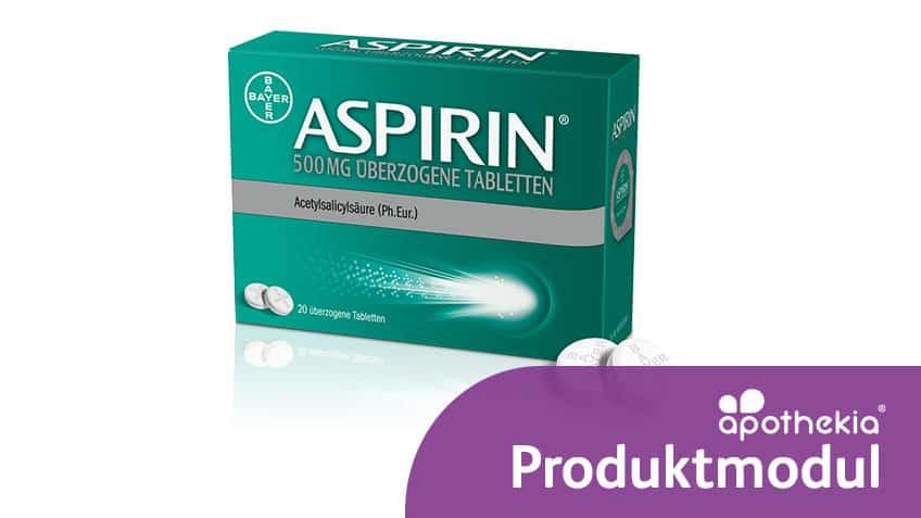 Teaser-Grafik zum apothekia-Lernmodul Aspirin