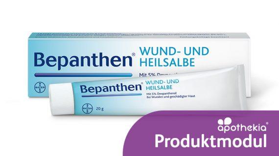 Teaser zum apothekia-Produktmodul zu Bepanthen Wund- und Heilsalbe