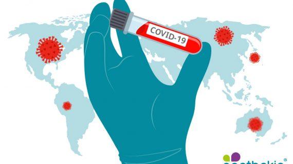 Symbolgrafisk zum apothekia-Wissensmodul zum Coronavirus